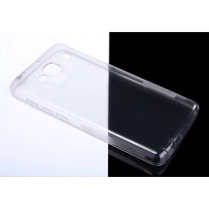 Силиконовый матовый ультратонкий полупрозрачный чехол для Xiaomi RedMi 2 Белый