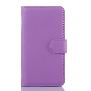 Чехол портмоне подставка с защелкой для Xiaomi RedMi 2 Фиолетовый