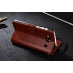 Чехол портмоне подставка на пластиковой основе с защелкой для Xiaomi RedMi 2