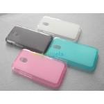 Силиконовый полупрозрачный чехол для HTC Desire 210