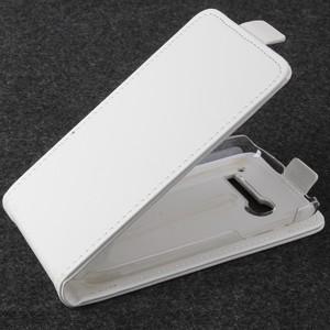 Чехол вертикальная книжка на пластиковой основе с магнитной застежкой для Alcatel One Touch Pop C5