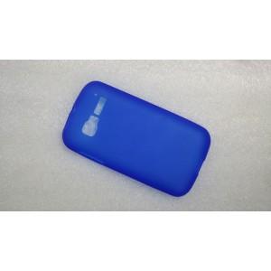Силиконовый матовый непрозрачный чехол для Alcatel One Touch Pop C5