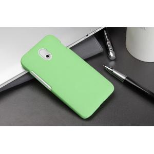 Пластиковый чехол серия Metallic для HTC Desire 210 Зеленый