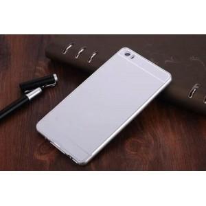 Двухкомпонентный чехол с металлическим бампером и поликарбонатной накладкой для Xiaomi Mi Note Белый