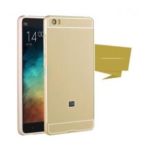 Двухкомпонентный чехол с металлическим бампером и поликарбонатной накладкой для Xiaomi Mi Note