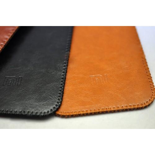 Кожаный вощеный мешок с логотипом гаджета для Xiaomi Mi Note