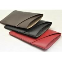 Кожаный дизайнерский z-образный мешок с внешним карманом для Xiaomi Mi Note Коричневый