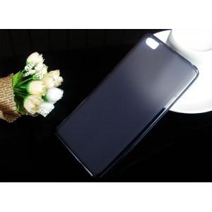 Силиконовый матовый полупрозрачный чехол для Xiaomi Mi Note Черный