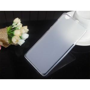 Силиконовый матовый полупрозрачный чехол для Xiaomi Mi Note Белый