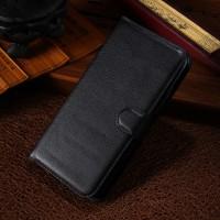 Чехол портмоне подставка с защелкой для Alcatel One Touch Pop S9 Черный