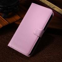 Чехол портмоне подставка с защелкой для Alcatel One Touch Pop S9 Розовый