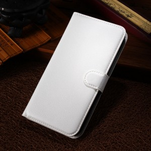 Чехол портмоне подставка с защелкой для Alcatel One Touch Pop S9 Белый