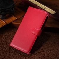 Чехол портмоне подставка с защелкой для Alcatel One Touch Pop S9 Красный