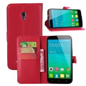 Чехол портмоне подставка с защелкой для Alcatel One Touch Pop S9