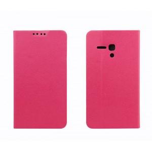 Чехол флип-подставка с отделением для карт для Alcatel One Touch Pop D5 Пурпурный