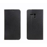 Чехол флип-подставка с отделением для карт для Alcatel One Touch Pop D5 Черный