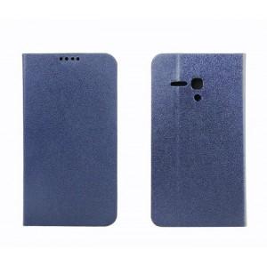 Чехол флип-подставка с отделением для карт для Alcatel One Touch Pop D5 Синий