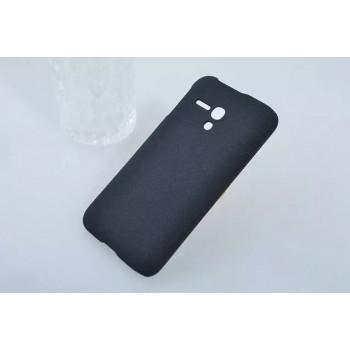 Пластиковый матовый непрозрачный чехол для Alcatel One Touch Pop D5