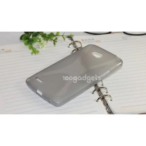Силиконовый чехол Х для LG L80