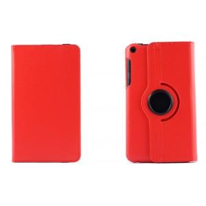 Чехол подставка роторный для Asus FonePad 8 Красный