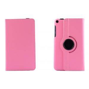 Чехол подставка роторный для Asus FonePad 8 Розовый