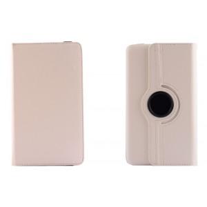 Чехол подставка роторный для Asus FonePad 8 Белый