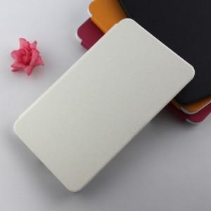 Чехол флип подставка текстурный на силиконовой основе и присоске для планшета Alcatel OneTouch POP 8
