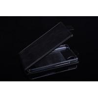 Чехол вертикальная книжка на пластиковой основе с магнитной застежкой для Explay Air Черный