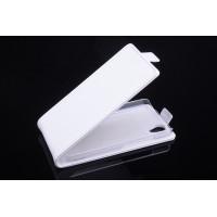 Чехол вертикальная книжка на пластиковой основе с магнитной застежкой для Explay Air Белый