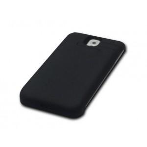 Пластиковый чехол/экстра аккумулятор (4600 мАч) для Samsung Galaxy Note 3 Черный