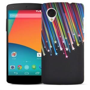 Пластиковый матовый дизайнерский чехол с УФ-принтом для Google LG Nexus 5