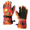 Водонепроницаемые ветрозащитные сенсорные (полноладонные) горнолыжные перчатки с ремешком размер S