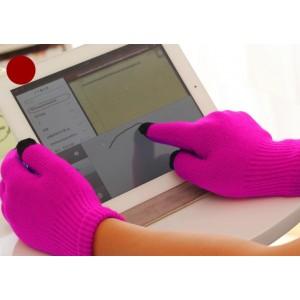 Детские осенние сенсорные трехпальцевые перчатки
