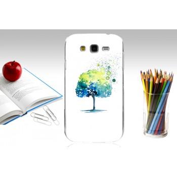 Пластиковый матовый дизайнерский чехол с УФ-принтом для Samsung Galaxy Grand/Neo