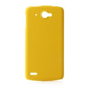 Силиконовый глянцевый чехол для Lenovo S920 Желтый