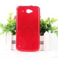 Силиконовый глянцевый чехол для Lenovo S920 Красный