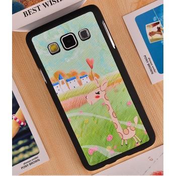 Пластиковый дизайнерский чехол с принтом для Samsung Galaxy A3