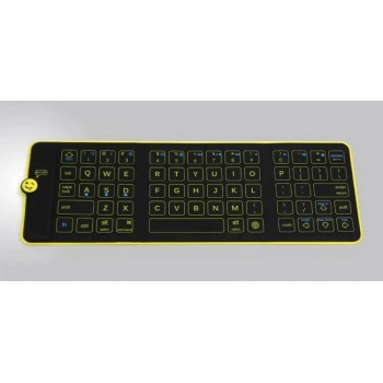 Складная водонепроницаемая внешняя беспроводная bluetooth клавиатура (English)