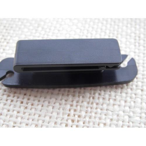 Антизапутыватель для кабеля/наушников переносной на клипсе