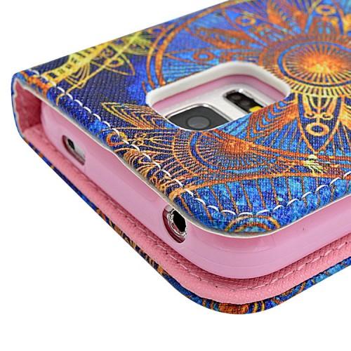 Принтованный чехол флип подставка для Samsung Galaxy S5 Mini