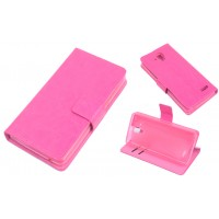 Чехол флип-подставка с отделением для карт для Lenovo A536 Ideaphone Пурпурный