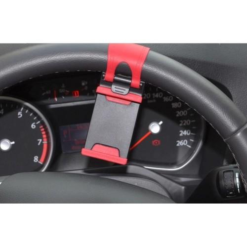 Универсальный автомобильный держатель на руль для гаджетов 55-75 мм