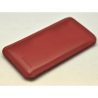 Кожаный мешок для Sony Xperia C3 Красный