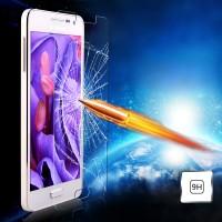Ультратонкое износоустойчивое сколостойкое олеофобное защитное стекло-пленка для Samsung Galaxy A3