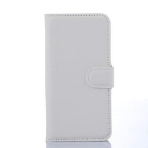 Чехол портмоне подставка с защелкой для Samsung Galaxy S6 Edge Белый
