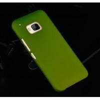 Пластиковый металлик чехол для HTC One M9 Зеленый