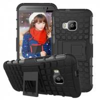 Силиконовый чехол экстрим защита для HTC One M9 Черный
