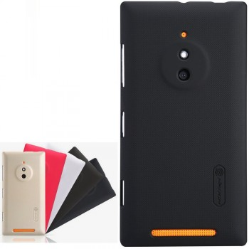 Пластиковый матовый нескользящий премиум чехол для Nokia Lumia 830