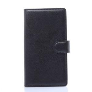 Чехол портмоне подставка с защелкой для LG G Flex 2 Черный