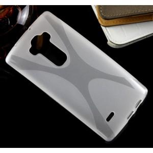 Силиконовый X чехол для LG G Flex 2 Белый